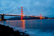 Golden Gate Bridge in San Francisco, California