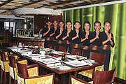 Asian Restaurant waitresses