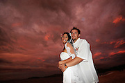 Beach wedding in Bahia del Sol, Costa Rica. Colin Braley/Photo
