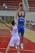 Porec 09 Agosto 2012 - Amichevole Croazia Italia<br /> Nella Foto : MARCO CUSIN<br /> Foto Ciamillo