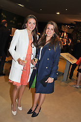 Left to right, VICTORIA MADELEY and ALEXANDRA MADELEY at a preview evening of the annual London LAPADA (The Association of Art & Antiques Dealers) antiques Fair held in Berkeley Square, London on 18th September 2012.