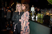 HANNAH TOINTON; KARA TOINTON, Absent Friends - press night  afterparty. Mint Leaf. Haymarket. London. Thursday 9 February 2012