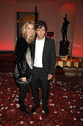 KIM HERSOV and BARRY REIGATE at a party to celebrate the launch of the 'Inde Mysterieuse' jewellery collection held at Lancaster House, London SW1 on 19th September 2007.<br />