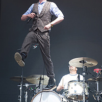 The Kaiser Chiefs, in concert at The Summer Sessions, Dalkeith Country Park, Edinburgh, Great Britain 24th June 2018