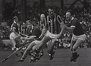 Dermott McCurtain, Billy Fitzpatrick in action in the 1983 All-Ireland Final.