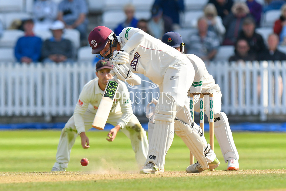 Ben Green of Somerset batting during the Specsavers County Champ Div 1 match between Somerset County Cricket Club and Lancashire County Cricket Club at the Cooper Associates County Ground, Taunton, United Kingdom on 5 September 2018.