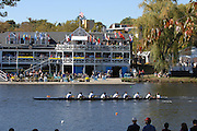 Boston, USA, competing in the Head of the Charles, Race Charles River,  Cambridge,  Massachusetts. Sunday  21/10/2007  [Mandatory Credit Peter Spurrier/Intersport Images]..... , Rowing Course; Charles River. Boston. USA Cambridge Boat House