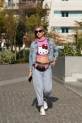 EXCLUSIVE: Wanda Nara wife of Inter football player Mauro Icardi buy a new house in Milan in the same building of Chiara Ferragni and Fedez. 03 Nov 2017 Pictured: Chiara Ferragni. Photo credit: Mr. Flan / MEGA TheMegaAgency.com +1 888 505 6342
