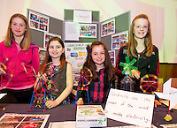 Chloe Lohan, Maria Madden Kate Hogan and Caileigh Buchan from Fohenagh National school who took part in the  Medtronic Knex Challenge at the Radisson blu Hotel.  Medtronic KNEX Challenge is for  primary school children completing  exceptional tasks which will be judged on the level of engineering, innovation and communication displayed by the teams.. .The final event of the week is the Medtronic  Junior FIRST LEGO League challenge on THURSDAY. This is the second year The Galway Education Centre has hosted this competition - one of only six countries in the world who do so. Following the success of last year, over 500 school children from all over the country are expected to come along and practice their robotics, presentation and teamwork skills live on the night!. .Bernard Kirk, Director of The Galway Education Centre says; ?Working on this three day event every year is fun and exciting and always surprising. The talent, instinct and drive we discover in these young children is an inspiration to all of us. We look forward to the continued success of all of our challenges which would not be possible without the support of companies like Medtronic, SAP, HP and LEGO?.. .All of these events are open to the public and free admission. They will also be streamed live on line at www.galwayeducationcentre.ie. Photo:Andrew Downes.