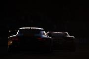 June 14-19, 2016: 24 hours of Le Mans. Porsche 991 RSE and Ferrari 488 GTE