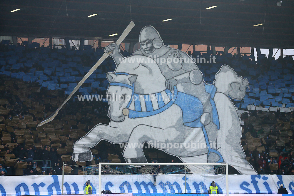 "Foto Filippo Rubin<br /> 03/03/2018 Ferrara (Italia)<br /> Sport Calcio<br /> Spal - Bologna - Campionato di calcio Serie A 2017/2018 - Stadio ""Paolo Mazza""<br /> Nella foto: I TIFOSI DELLA SPAL<br /> <br /> Photo by Filippo Rubin<br /> March 03, 2018 Ferrara (Italy)<br /> Sport Soccer<br /> Spal vs Bologna - Italian Football Championship League A 2017/2018 - ""Paolo Mazza"" Stadium <br /> In the pic: SPAL SUPPORTERS"