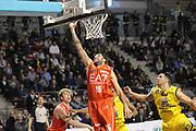 DESCRIZIONE : Ancona Lega A 2012-13 Sutor Montegranaro EA7 Emporio Armani Milano<br /> GIOCATORE : Ioannis Bourousis<br /> CATEGORIA : tiro penetrazione<br /> SQUADRA : EA7 Emporio Armani Milano<br /> EVENTO : Campionato Lega A 2012-2013 <br /> GARA : Sutor Montegranaro EA7 Emporio Armani Milano<br /> DATA : 25/11/2012<br /> SPORT : Pallacanestro <br /> AUTORE : Agenzia Ciamillo-Castoria/C.De Massis<br /> Galleria : Lega Basket A 2012-2013  <br /> Fotonotizia : Ancona Lega A 2012-13 Sutor Montegranaro EA7 Emporio Armani Milano<br /> Predefinita :