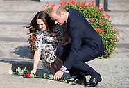 Duke & Duchess of Cambridge Visit Solidarity 2