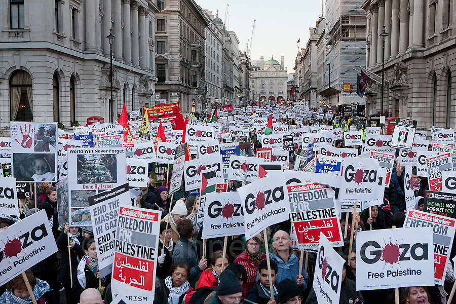Gaza Protest, London, UK.