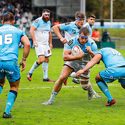 Tom DARLET of Bayonne during the Top 14 match between Bayonne and Montpellier on October 12, 2019 in Bayonne, France. (Photo by JF Sanchez/Icon Sport) - Tom DARLET - Stade Jean Dauger - Bayonne (France)