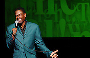 "Comedian Chris Rock performs his ""No Apologies"" show at the WaMu Theater at Madison Square Garden in New York City, USA on May 4, 2008."