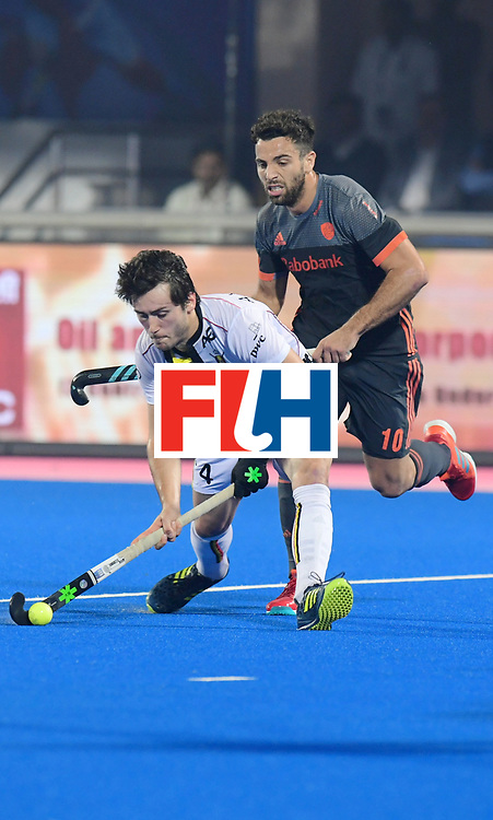 Odisha Men's Hockey World League Final Bhubaneswar 2017<br /> Match id:12<br /> Belgium v Netherlands<br /> Foto: Arthur van Doren (Bel) <br /> COPYRIGHT WORLDSPORTPICS FRANK UIJLENBROEK