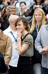Keira Knightley at The Edge of Love photocall at Edinburg Castle.©2007 Michael Schofield. All Rights Reserved.