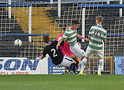 Celtic's Kieran Tierney opens the scoring -  Celtic v Dundee,  SPFL Development League at Cappielow<br /> <br />  - &copy; David Young - www.davidyoungphoto.co.uk - email: davidyoungphoto@gmail.com