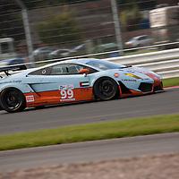 #99 Lamborghini Gallardo LP560 - Gulf Team First (Drivers - Fabien Giroix and Ronald Goethe) GT2, Le Mans Series Silverstone 1000KM 2010