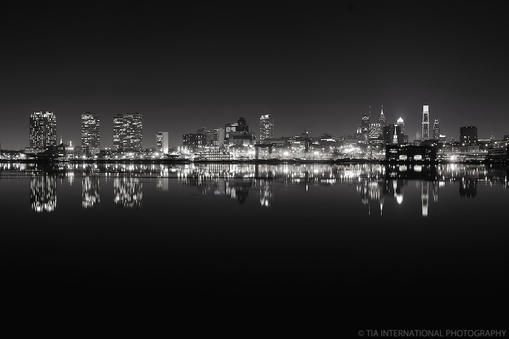 Philadelphia Skyline along the Delaware River