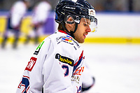 2020-01-22   Kallinge, Sweden: Halmstad Hammers (10) Kevin Loppatto during the warming up before the game between Krif hockey and Halmstad Hammers at Soft Center Arena (Photo by: Jonathan Persson   Swe Press Photo)<br /> <br /> Keywords: kallinge, Ishockey, Icehockey, hockeyettan, allettan södra, soft center arena, krif hockey, halmstad hammers (Match code: krhh200122)