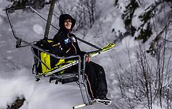 08.02.2019, Salpausselkae Hill, Lahti, FIN, FIS Weltcup Ski Sprung, Herren, im Bild Clemens Aigner (AUT) // Clemens Aigner of Austria during the men's FIS Ski Jumping World Cup at the Salpausselkae Hill in Lahti, Finland on 2019/02/08. EXPA Pictures © 2019, PhotoCredit: EXPA/ JFK