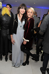 Left to right, DAISY LOWE and JAIME WINSTONE at the pre party for the English National Ballet's Christmas performance of The Nutcracker held at the St.Martin's Lane Hotel, St.Martin's Lane, London on 14th December 2011.