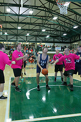 30 December 2017: State Farm Holiday Classic Coed Basketball Tournament at Shirk Center in Bloomington IL<br /> <br /> SFHC - Ron Knisley Memorial Shootout for Special Olympics