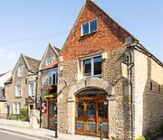 Tourist information centre in town of Melksham, Wiltshire, England, UK