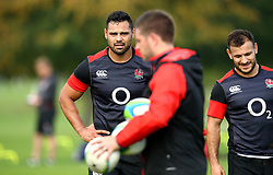 Ben Te'o of England during the training Camp at St Edwards College in Oxford - Mandatory by-line: Robbie Stephenson/JMP - 26/09/2017 - RUGBY - England - England rugby training session