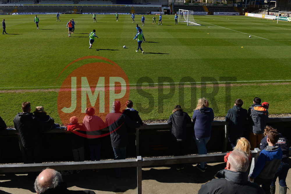 Bristol Rovers open training session - Photo mandatory by-line: Dougie Allward/JMP - Mobile: 07966 386802 - 31/03/2015 - SPORT - Football - Bristol - Memorial Stadium - Vanarama Football Conference - Bristol Rovers Open Training Session