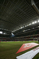 Photo: Lee Earle.<br /> Barnsley v Swansea City. Coca Cola League 1. Play off Final. 27/05/2006. The Millennium Stadium with the roof closed.