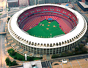 Aerial photograph of the Busch Stadium, St. Louis Cardinals Baseball