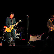 James Hunter Performs at The Music Hall, Portsmouth, NH. Jason Wilson, Bass; James Hunter, Guitar & Vocals; Jonathan Lee, Drums; Damian Hand, Tenor Sax; Lee Badau, Bari Sax