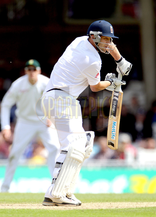 © Andrew Fosker / Seconds Left Images 2012 - England's Jonathan Trott  England v South Africa - 1st Investec Test Match -  Day 1 - The Oval  - London - 19/07/2012