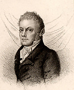Johann (Christoph) Kaspar Spurzheim (1776-1832) German phrenologist.