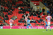 during the The FA Cup 3rd round replay match between Stoke City and Shrewsbury Town at the Bet365 Stadium, Stoke-on-Trent, England on 15 January 2019.