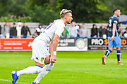 Leeds United Ezgjan Alioski (10) reacts during the Pre-Season Friendly match between Tadcaster Albion and Leeds United at i2i Stadium, Tadcaster, United Kingdom on 17 July 2019.