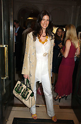CHRISTINA JUFFALI she was Christina Estrada at a party to celebrate the re-opening of the David Morris Flagship store at 180 New Bond Street, London on 14th June 2006.<br /><br />NON EXCLUSIVE - WORLD RIGHTS