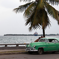 Central America, Cuba, Cienfuegos. Scene along the Punta Gorda of Cienfuegos, Cuba.