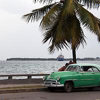 Central America, Cuba, Cienfuegos. Scene along the Punta Gorda of Cienfuegos, Cuba.