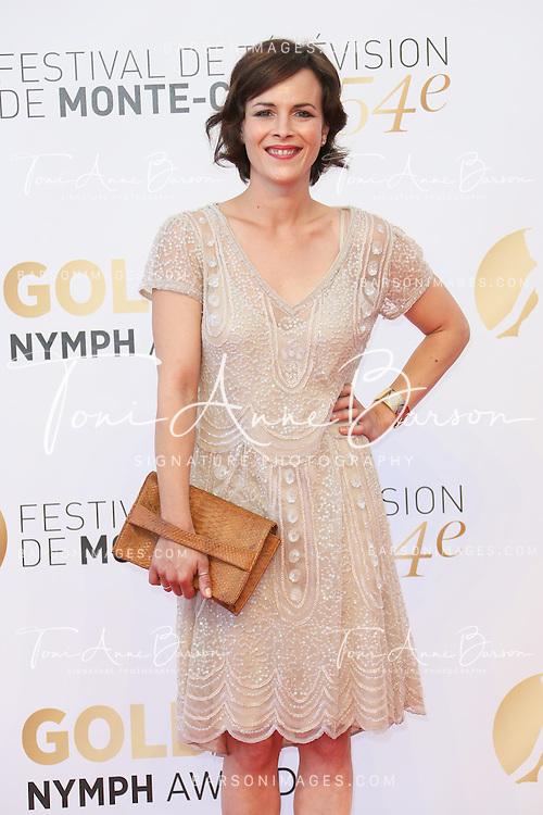 MONTE-CARLO, MONACO - JUNE 11:  Armelle Deutsch attends the Closing Ceremony and Golden Nymph Awards of the 54th Monte Carlo TV Festival on June 11, 2014 in Monte-Carlo, Monaco.  (Photo by Tony Barson/FilmMagic)