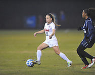 Ole Miss' Jennifer Miller (22) vs. Jackson State in NCAA Soccer Tournament in Oxford, Miss. on Friday, November 15, 2013. Ole Miss won 9-0.
