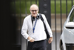 © Licensed to London News Pictures. 29/06/2020. London, UK. Senior government advisor Dominic Cummings arrives in Downing Street. Cabinet Secretary Sir Mark Sedwill has announced that he will stand down in September. Photo credit: Peter Macdiarmid/LNP