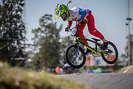 #116 (AFREMOVA Natalia) RUS  at Round 9 of the 2019 UCI BMX Supercross World Cup in Santiago del Estero, Argentina