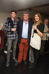 Left to right, MICHAEL O'DRISCOLL, RICHARD O'DRISCOLL and TERESA O'DRISCOLL founder of Its Got Soul at the Hix Award 2016 held at Unit London, 147 Wardour Street, Soho, London on 5th September 2016.