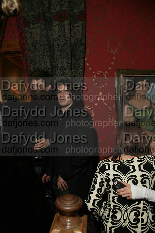 Nick Hackworth, Party for Jean Pigozzi hosted by Ivor Braka to thank him for the loan exhibition 'Popular Painting' from Kinshasa'  at Tate Modern. Cadogan sq. London. 29 May 2007.  -DO NOT ARCHIVE-© Copyright Photograph by Dafydd Jones. 248 Clapham Rd. London SW9 0PZ. Tel 0207 820 0771. www.dafjones.com.