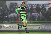 Forest Green Rovers Christian Doidge(9) during the EFL Sky Bet League 2 match between Forest Green Rovers and Lincoln City at the New Lawn, Forest Green, United Kingdom on 12 September 2017. Photo by Shane Healey.