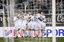 February 23, 2019 - Amiens, France - EQUIPE DE FOOTBALL D AMIENS - JOIE (Credit Image: © Panoramic via ZUMA Press)